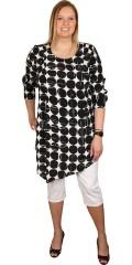 Q´neel - Tunika klänning med fina stil i ärmar och front och sned stil under