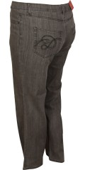 DNY (Marc Lauge) - Classic super-fit jeans 80 and 86 cm. with adjustable rubber band in the waist from size 46 and up
