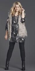 Zhenzi - Lækker fake fur vest