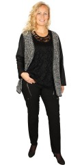 Zhenzi - Knit cardigan with long sleeves