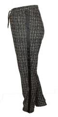 Zhenzi - Smarte casual pants med elastik i hele taljen, strech og stiklommer
