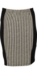 Handberg - Smart skirt with rubber band in whole the waist