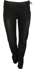 DNY - Mali denim super stretch leggings with rubber band in whole the waist