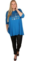 Q´neel - Qneel blouse with long sleeves, light a-shaped