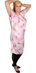 Juna Rose (Bestseller) - Våren klänning med små vinge ärmar och fina draperingar