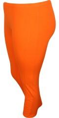 Zhenzi - Kne lang legging med strikk i hele taljen, smart sluttning på benene