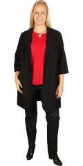 Juna Rose (Bestseller) - Long blazer with 3/4 sleeves and pockets