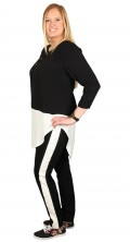 Veto - Leisure pants from veto with rubber band in whole the waist