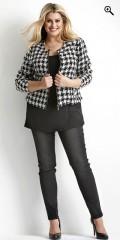 Zhenzi - Short woven jacket with zipper