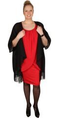 Zhenzi - Vacker klänning med vidd band