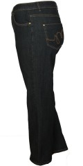 Studio - Jeans regular fit 42 mit Massen aus Stretch und Regulierbar Elastik in die Taille
