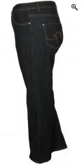 Studio - Jeans regular fit 42 med masser af strech og regulerbar elastik i taljen