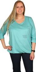 Zhenzi - T-shirt med 3/4 ærmer