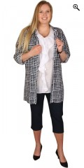 Studio - Lang skjorte med en bryst lomme