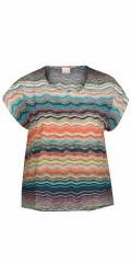 Zizzi - T-shirt with round neck