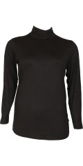 Zhenzi - T-shirt med lange ærmer og rullekrave
