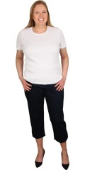 Handberg - T-shirt med korte ærmer og rund hals