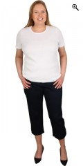 Handberg - T-shirt with short sleeves and round neck