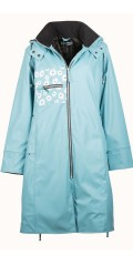 Handberg - Super nice quality raincoat with quilted lining