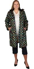 Handberg - Superflot kvalitets regnfrakke med quiltet foer