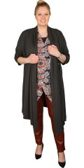 Que (Godske Group) - Long jacket/cardigan with 3/4 sleeves