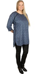Cassiopeia - Tunica with 3/4 sleeves and smart hole in the neck