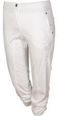 Zhenzi - Salsa pants stump med regulerbar elastik i taljen, bæltestropper og lommer