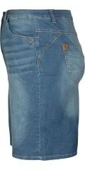 Zhenzi - Cowboy nederdel med gudebuks og regulerbar elastik i taljen