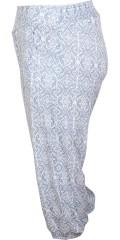 Zhenzi - Halblange Hose mit Elastik in die Taille und die Beine