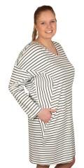 Juna Rose (Bestseller) - Klänning/tunika med långa ärmar och fickor i sidorna