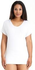 Sandgaard - T-shirt med kort vingeærme og v-hals