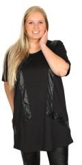 Crizpy (Zhenzi) - Kjole med 2/4 ærmer og slidse i nakken