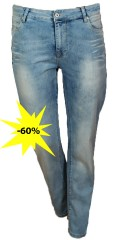 DNY (Marc Lauge) - Lazy Jeans mody fit mit Regulierbar Elastik in die Taille und hübsch Wash Wirkung