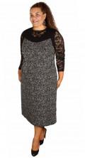 Q´neel - Lang kjole fra qneel uden ærmer og med rund hals