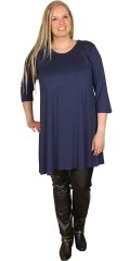 Cassiopeia - Tunica dress with 3/4 sleeves
