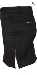Zizzi - Nederdel med strech
