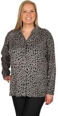 Zhenzi - Skjorte med lange ærmer og smart print