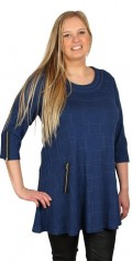 Kanok - Smart tunica in a-shaped with 1/2 sleeves
