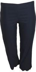 Zhenzi - Jazzy Hosen halblange Hose mit Elastik in die Taille