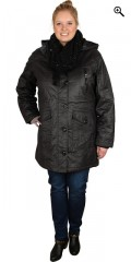 Cassiopeia - Nice warm coated jacket with detachable cap