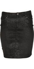 Cassiopeia - Super smart das Muster Rock mit Gurtträger und 4 Taschen