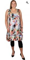 Gozzip - Super flot kjole uden ærmer og med 2 store lommer
