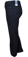 MerryTime - Klassische jeans mit strecken, 5 taschen und gurtträger, 3 längen