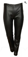 Studio - Leggings with fur look and super strechy material. Rubber band in whole the waist.