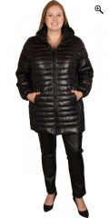 Cassiopeia - Carolina jacket in stylish quilt quality with cap