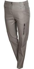 Zhenzi - Salsa normal fit jeans, coatede med strech og regulerbar elastik i taljen