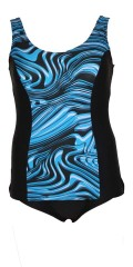 Mirou Swimwear - Smart badedragt i flotte blå farver