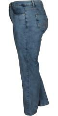 Studio - Jeans regular fit 42 mit Massen aus Stretch und Regulierbar Elastik in die Taille