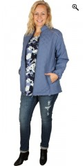 Zhenzi - Thermosjacket with rib a piece in the sides