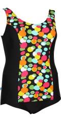 Mirou Swimwear - Smart badedragt med blomsterprint